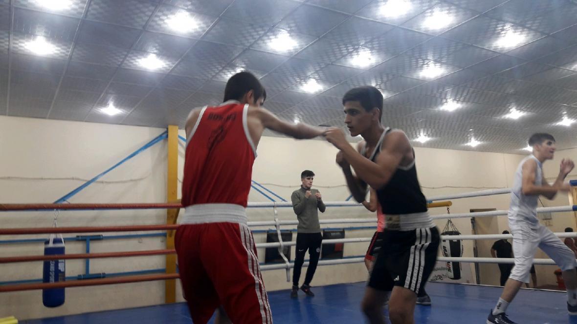 اعضای تیم ملی بوکس نوجوانان در بوشهر اردو زده اند