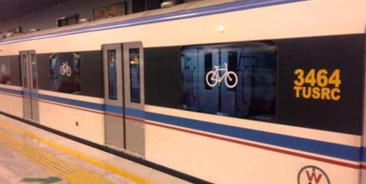 تردد 13 هزار دوچرخه سوار با مترو