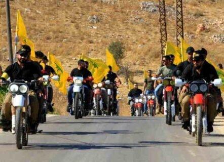 موتورسواران معترض هیچ ارتباطی با حزب الله لبنان ندارند