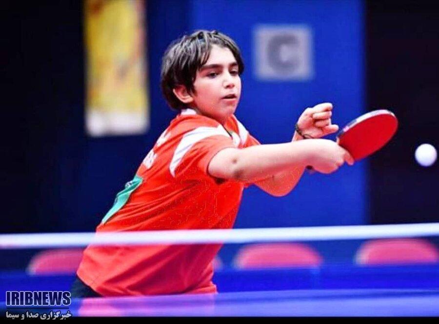 تنیس روی میز نوجوانان جهان ، منتخب آسیا با یک ایرانی قهرمان شد