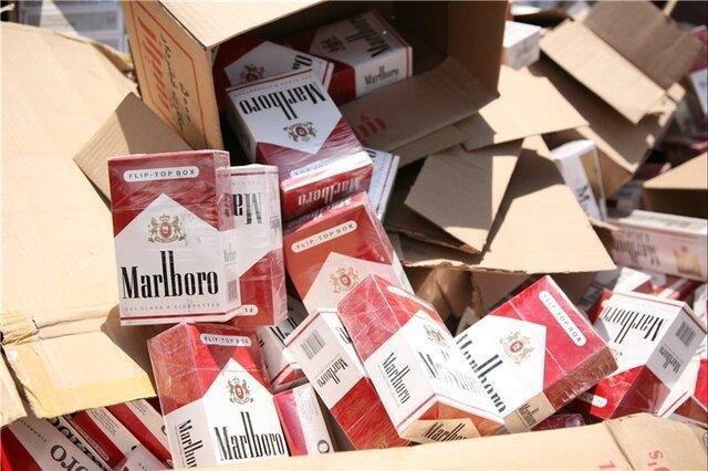 کشف 20 هزار نخ سیگار قاچاق در بهشهر