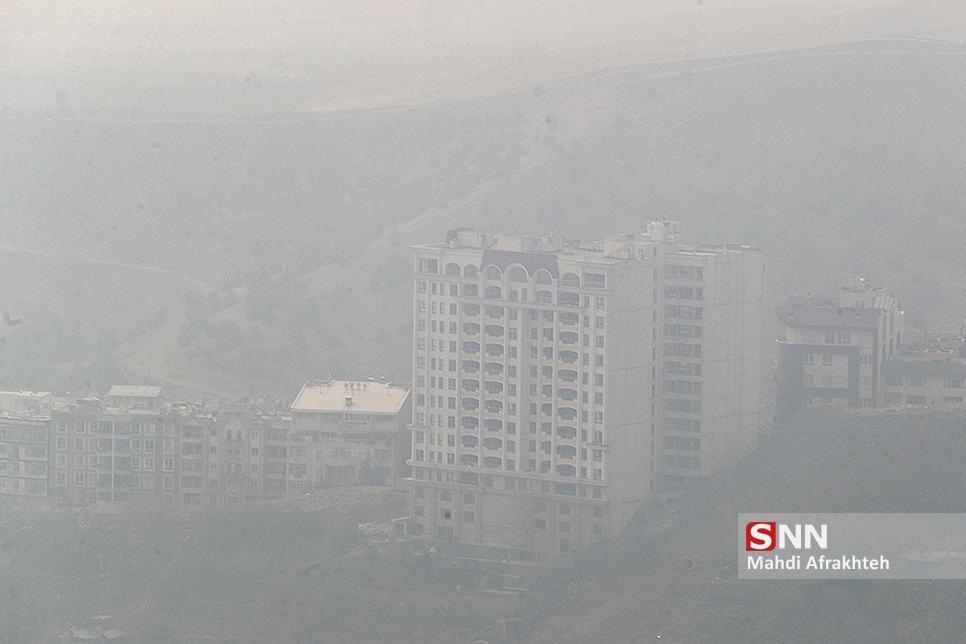هوای تهران تا سرانجام هفته آلوده است