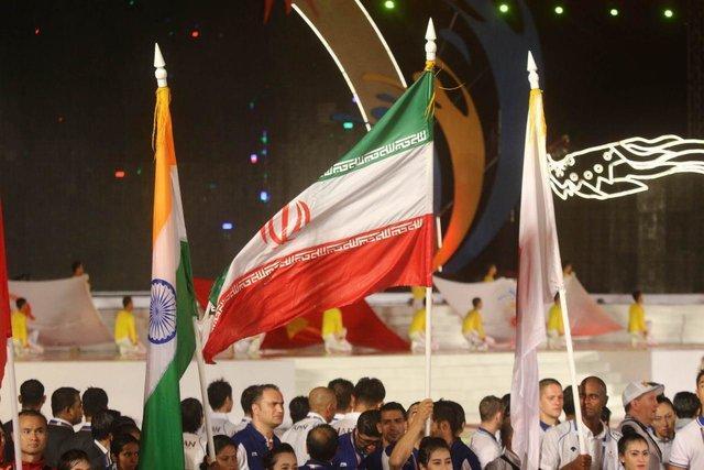 سه مدال دیگر ایران در بازی های ساحلی آسیا