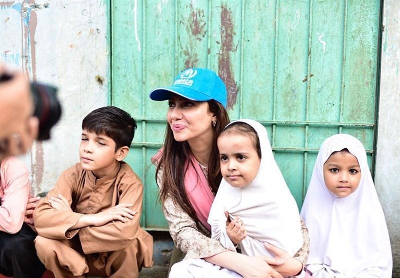 بازیگر پاکستانی سفیر حسن نیت سازمان ملل شد