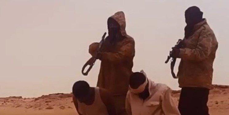 داعش فیلمی را از سر بریدن چند اسیر منتشر کرد