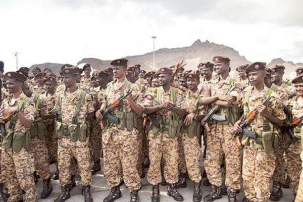 شمار نیروهای نظامی سودان در جنگ یمن به یک سوم کاهش یافت