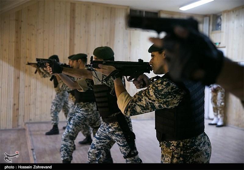 بازدید هیئت نظامی ارتش ایتالیا از نیروهای مسلح ایران