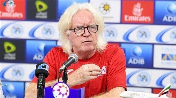 شفر گزینه راهنمایی تیم ملی فوتبال امارات و واکنش او