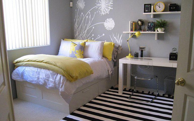 ایده های دکوراسیون اتاق خواب کوچک