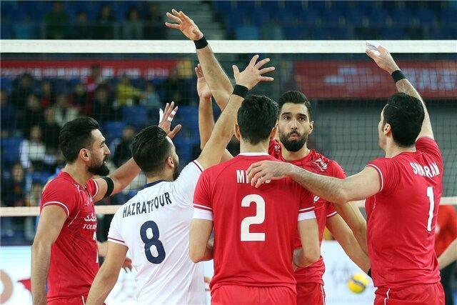 رقبای والیبال ایران در المپیک معین شدند، همگروهی با لهستان و ایتالیا