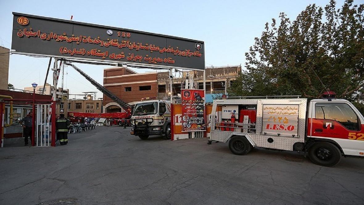 22 مورد اعزام امداد و نجات آتش نشانی اصفهان در سطح شهر