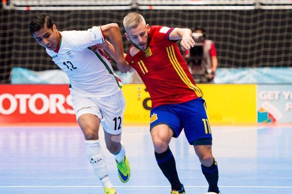 رویارویی تیم ملی فوتسال ایران با اسپانیا در تایلند