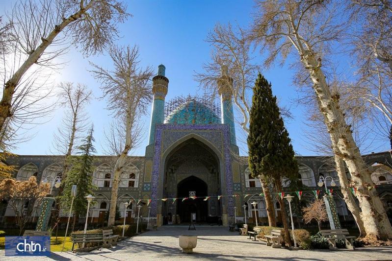 پیشرفت 85درصدی عملیات مرمت گنبد مدرسه چهارباغ اصفهان