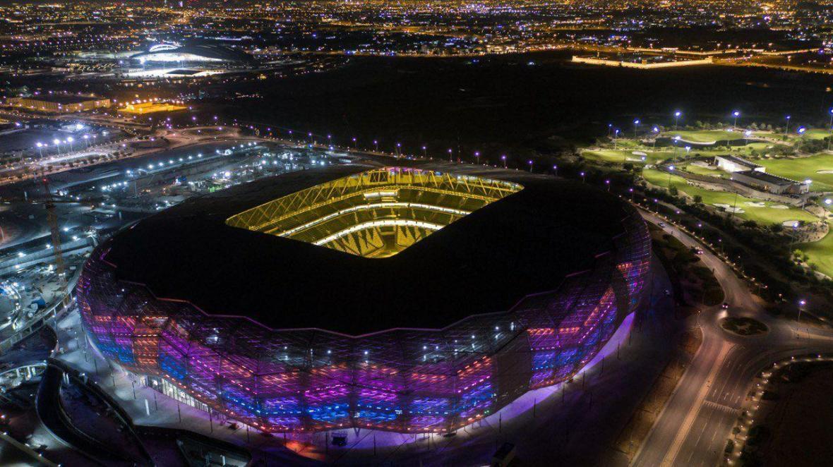افتتاح سومین استادیوم جام جهانی قطر