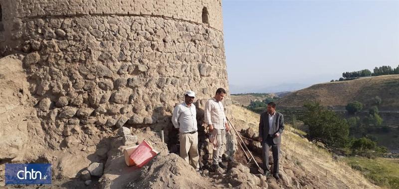 بازسازی بنای تاریخی کهنه قلعه در حال اجرا است