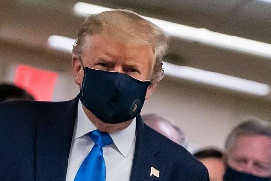 ترامپ: ماسک بزنید