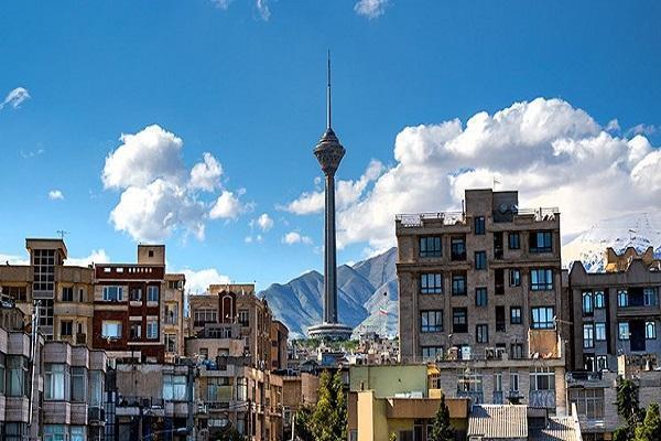کیفیت هوای تهران قابل قبول است، پایتخت امروز خنک می گردد