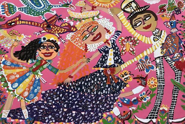 موفقیت بچه ها ایرانی در مسابقه نقاشی نوازاگورا بلغارستان