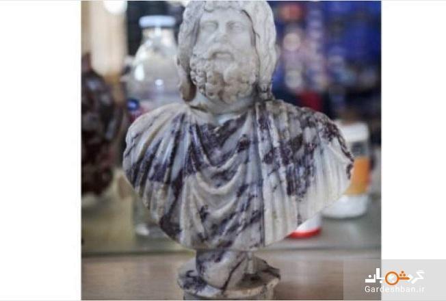 دو مجسمه تاریخی در ترکیه کشف شد
