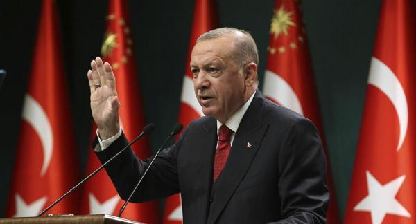 واکنش اردوغان به تحریم ترکیه