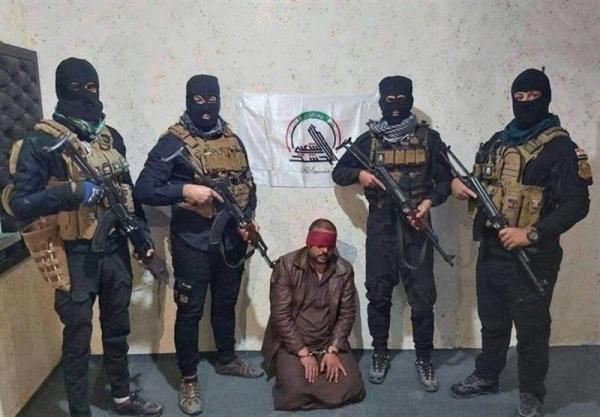 حشد شعبی عراق یک شبکه داعشی را در شمال شرق دیالی متلاشی کرد