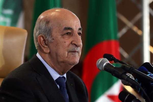 رئیس جمهور الجزایر مجلس این کشور را منحل کرد
