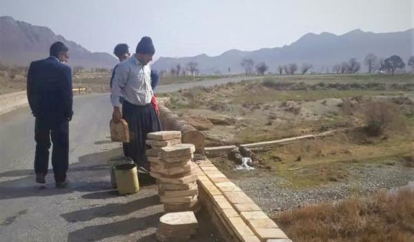 اتمام بازسازی پل حاجی خان روستای جلماجرد خمین طی 10 روز آینده