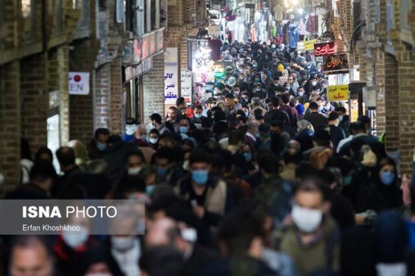 کرونای انگلیسی و مردم اهواز با هم در بازار می چرخند