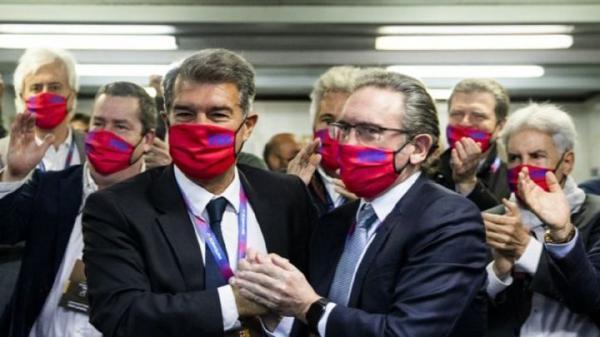 مشکل لاپورتا برای ریاست بر بارسلونا حل شد خبرنگاران
