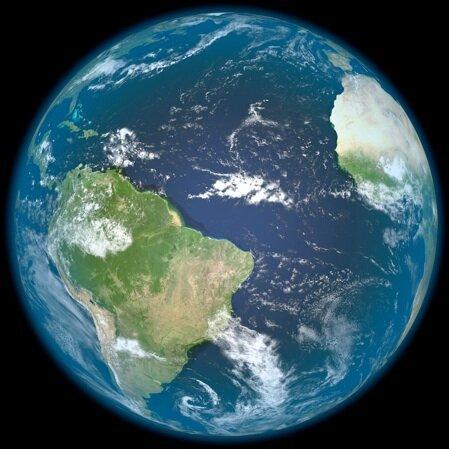 آیا زمین اولیه دنیایی کاملا آبی بود؟
