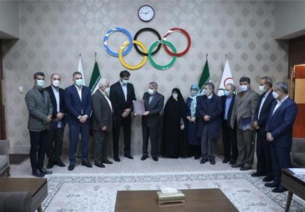 تقدیر اعضای هیئت اجرایی کمیته ملی المپیک از رئیس فدراسیون قایقرانی