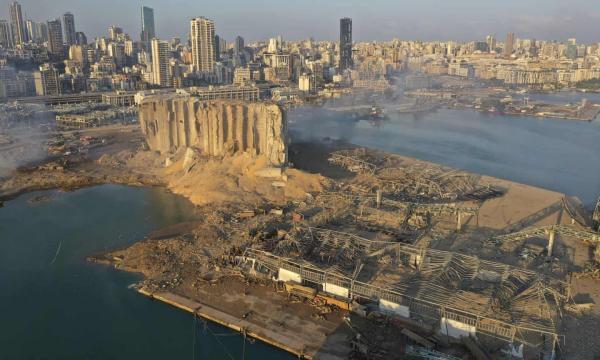 درخواست لبنان برای دریافت تصاویر ماهواره ای انفجار بندر بیروت