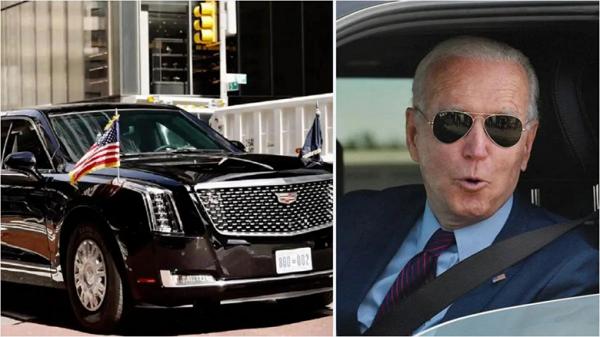 جو بایدن می خواهد لیموزین بنزینی 1.5 میلیون دلاری دونالد ترامپ را الکتریکی کند