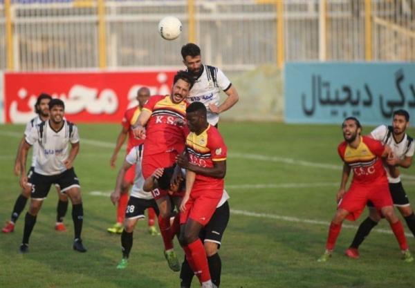 لیگ برتر فوتبال، رجحان یک نیمه ای فولاد مقابل نفت مسجدسلیمان