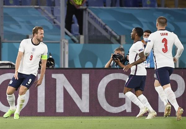یورو 2020، انگلیس در نیمه نخست بر اوکراین غلبه کرد