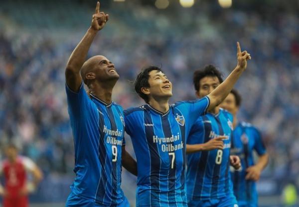 لیگ قهرمانان آسیا، پیروزی اولسان کره جنوبی و تساوی تیم های فیلیپینی و چینی
