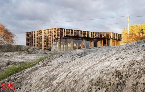 خانه جزیره ای؛ یک اثر هنری در نروژ!