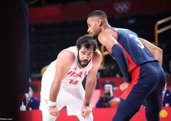 وداع تیم ملی بسکتبال ایران با المپیک با 3 شکست