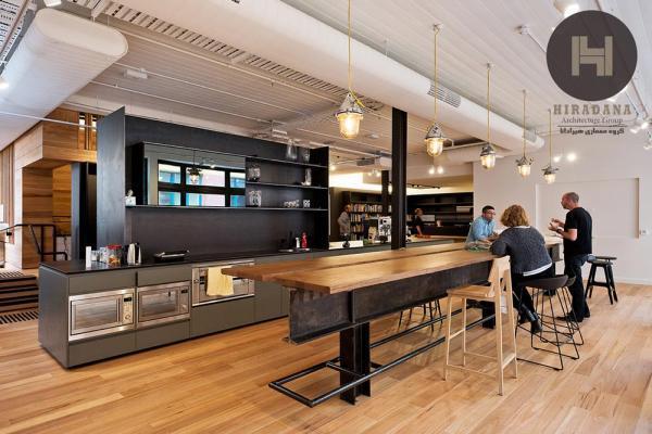 طراحی داخلی و بازسازی دفتر معماری کاکس در ملبورن