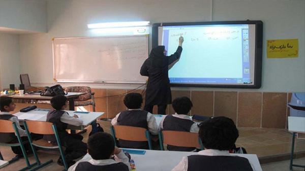 افتتاح اولین کلاس هوشمند در فارسان